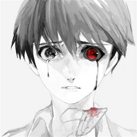 Jaket World Kaneki Ken Tokyo Ghoul draw boy smile zoeken drawings