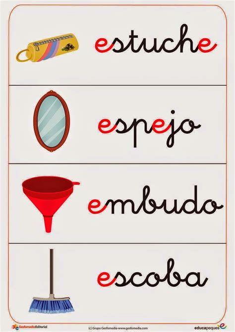 palabras e imagenes que empiecen con la letra v 3000 palabras con e material para maestros planeaciones