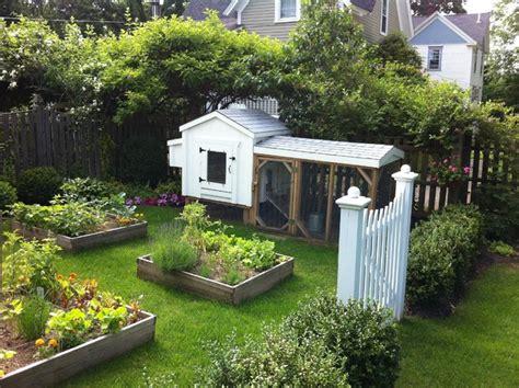 backyard garden farmhouse landscape boston