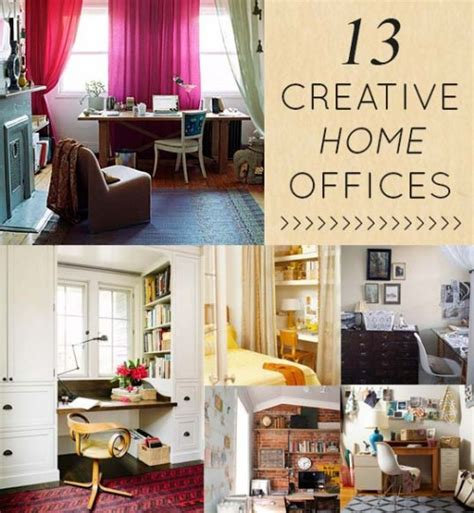 creative home office 13 creative clever home offices design sponge