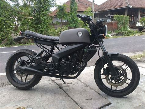 pulsar 200 ns modified indonesia this modified bajaj pulsar 200 ns scrambler