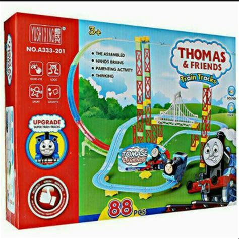 jual mainan anak thomas tracks roller coaster