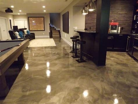 Concrete Floor Epoxy by Metallic Epoxy Flooring Pcc Columbus Ohio