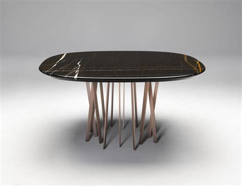 Luxurious Dining Tables Nella Vetrina Table Luxury Italian Dining Table In Black Marble