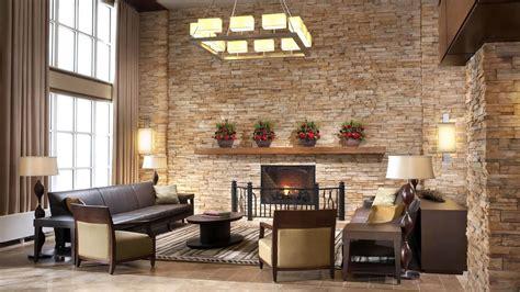 elegant stone wall interior designs ideas