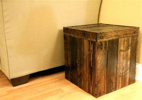 rustic storage ottoman  improve  room walsall home
