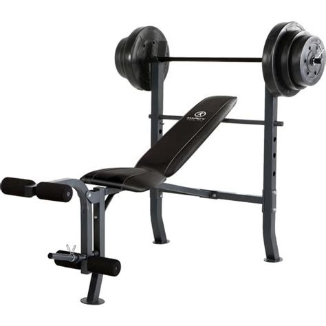 bench press and weight set marcy weight bench set academy