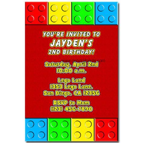 printable invitations lego lego party invitations new calendar template site