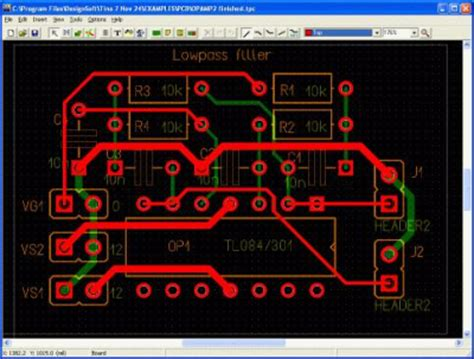 pcb layout design exles pcb design with tina