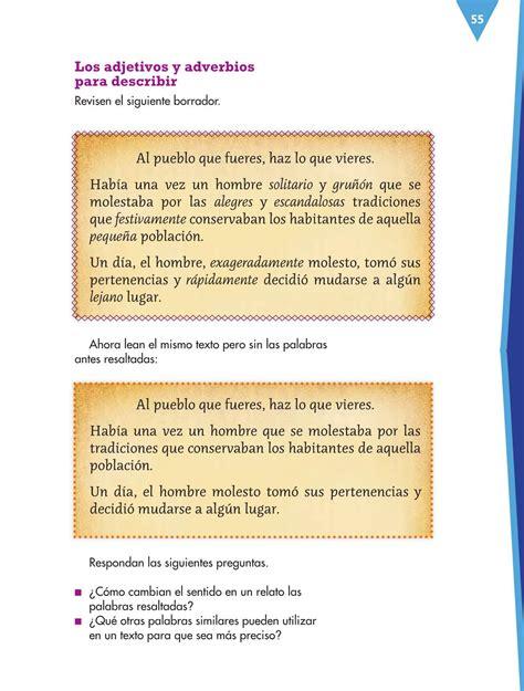 de espaol contestado de quinto grado pagina 157 libro de espaol cuarto grado contestado espa 241 ol cuarto