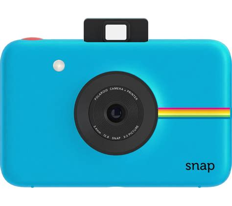blue polaroid buy polaroid snap instant blue free delivery