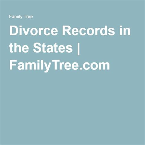 Divorce Records In 479 Best Images About Ancestry On Family Tree Chart Genealogy And Family