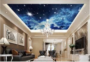 Spiderman Wall Murals 3d stereo universe star ceiling wallpaper mural wallpaper