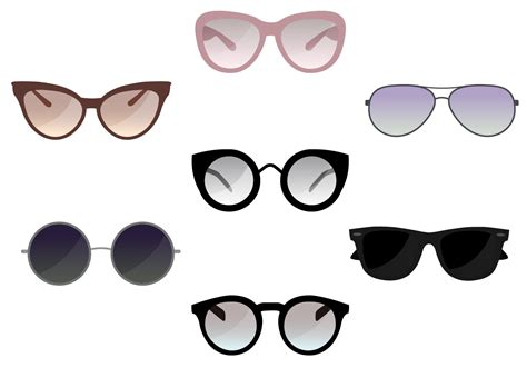 glasses vector sunglasses free vector art 11259 free downloads
