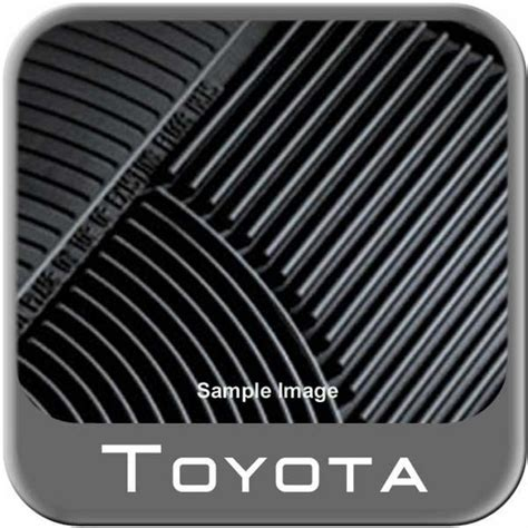 Toyota All Weather Floor Mats 2012 2015 Toyota Sequoia Rubber Floor Mats All Weather 3rd