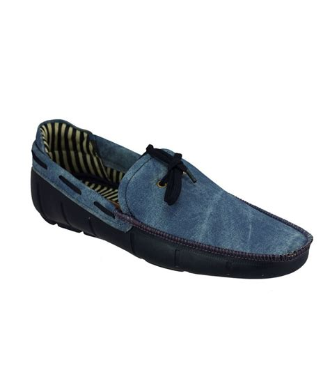buy loafer shoes buy choice4u blue loafer shoes for snapdeal