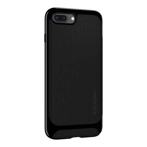 Iphone X Spigen Neo Hybrid Shiny Black spigen 174 neo hybrid herringbone 055cs22230 iphone 8 plus 7 plus shiny black spaceboy