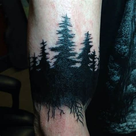 43 wonderful forest tattoos