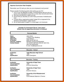 cv template south africa resumes 5 student cv template south africa packaging clerks