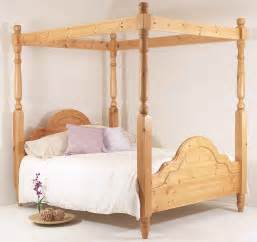 four poster beds for solid pine bed 6ft king all sizes available