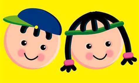 caritas de ninos animados caricaturas de caritas de ni 241 os felices imagui