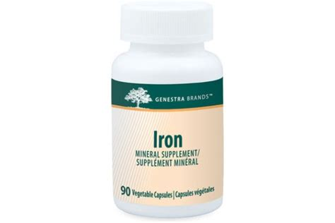 supplement with iron iron supplement 90 capsules by genestra