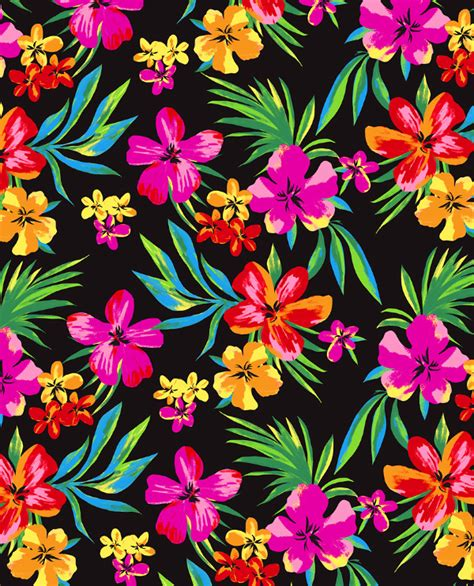 hawaii pattern photoshop hawaiian flower wallpaper wallpapersafari