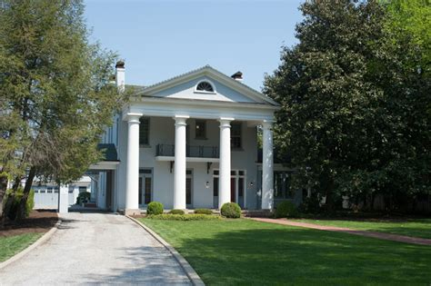 Greek Revival Architecture In Virginia House Mcfarland