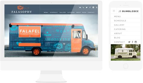 Food Truck Website Design | food truck website design templates done right made