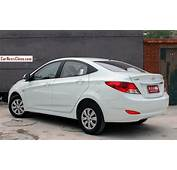 2014 Hyundai Verna Image Source CarNewsChina