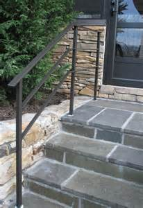 Handrails For Outdoor Steps Uk Wrought Iron Handrail For The Home Inside Amp Out