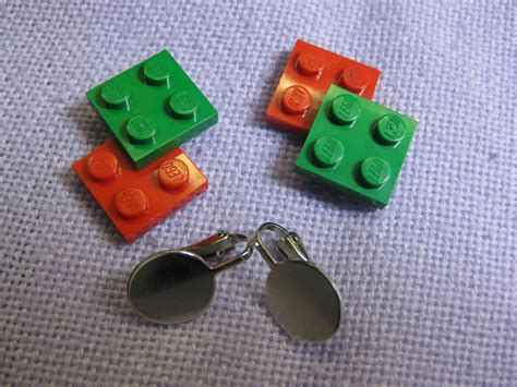 how to make lego jewelry new jewelry a day make lego 174 earrings
