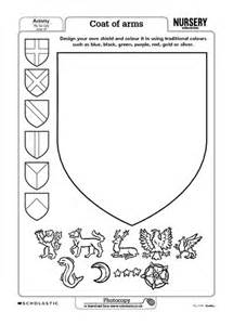 free coloring pages of coat of arms template