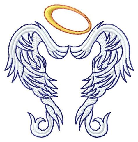 embroidery design angel fantasy embroidery design angel wings from grand slam designs