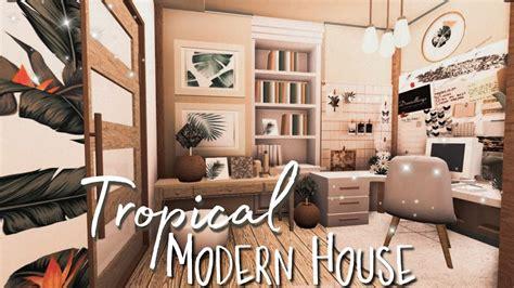 roblox bloxburg tropical modern house  winner