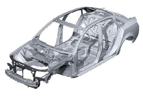 frame design for car monocoque body on frame vs monocoque