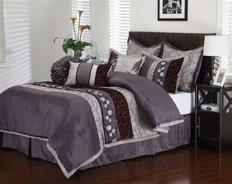 Purple Queen Size Comforter Sets Car Interior Design Purple Bedding Sets