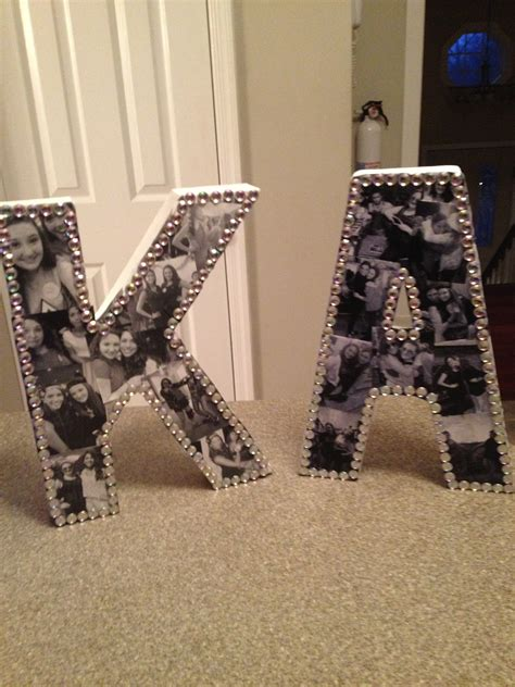 How To Make A Handmade Photo Collage - diy bejeweled photo collage letters sparkle and shine