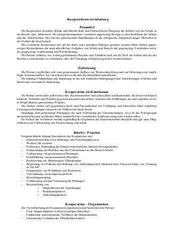 Muster Kündigung Cdu Muster Kooperationsvertrag