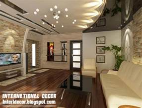 Modern Living Room Ceiling Interior Design 2014 Modern False Ceiling Designs For Living Room Interior Designs