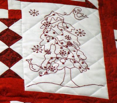 sew sisters quilt shop: jazz up your quilts with embroidery!