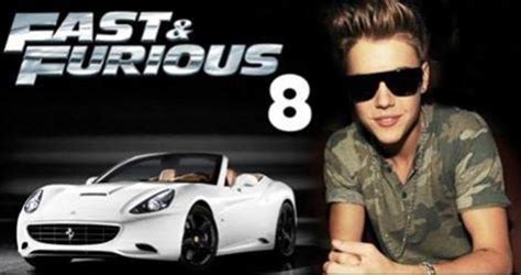fast and furious 8 justin bieber fake justin bieber set to replace paul walker in fast and