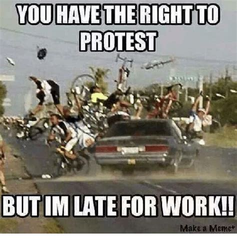 Late For Work Meme - 25 best memes about protestant protestant memes