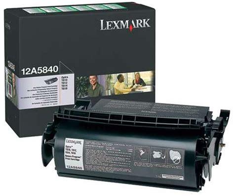 Tinta T644 Black original toner negro para lexmark optra t610 t612 t614
