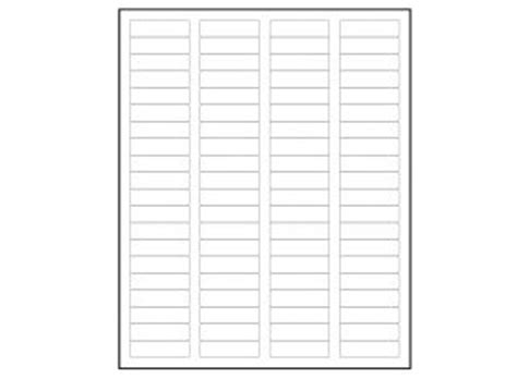 return address labels 1 75 x 0 666 60 labels per sheet