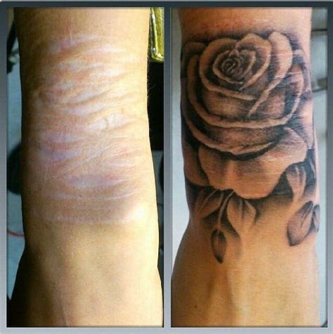 scar cover up tattoo designs these used genius tattoos ideas to cover up their