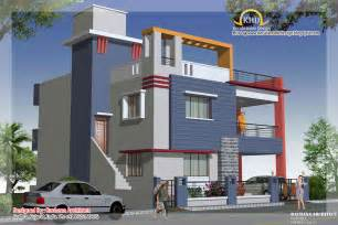 Duplex Building Duplex House Plan And Elevation 2349 Sq Ft Home
