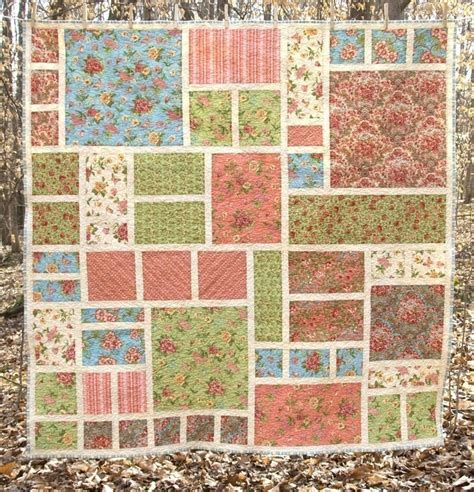 quilt pattern rose no 002 modern rose garden quilt pattern