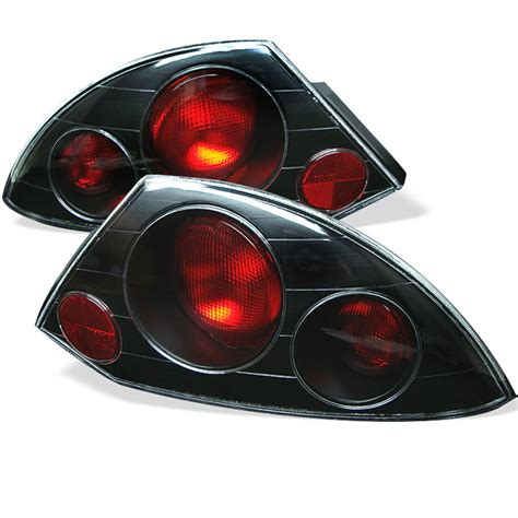 Mitsubishi Eclipse Lights by 2000 2002 Mitsubishi Eclipse Black Style Lights