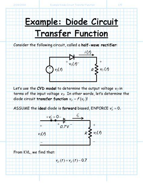 diode circuit function function of diode in circuit 28 images diodes transistors and ppt input resistance